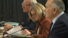 Rachel Notley attends First Ministers meeting.