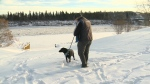 Dog owners reminded about ice safety.