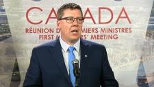 Saskatchewan Premier Moe takes questions