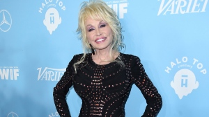 In this Sept. 15, 2017 file photo, Dolly Parton arrives at the 69th Primetime Emmy Awards Variety and Women in Film pre-Emmy celebration in Los Angeles. (Photo by Jordan Strauss/Invision/AP, File)