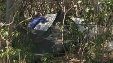 Lethbridge homeless camp