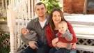 Shawn Kelly Jr. pictured with his girlfriend and two sons in this undated photo. (Photo courtesy: Kelly famlly)
