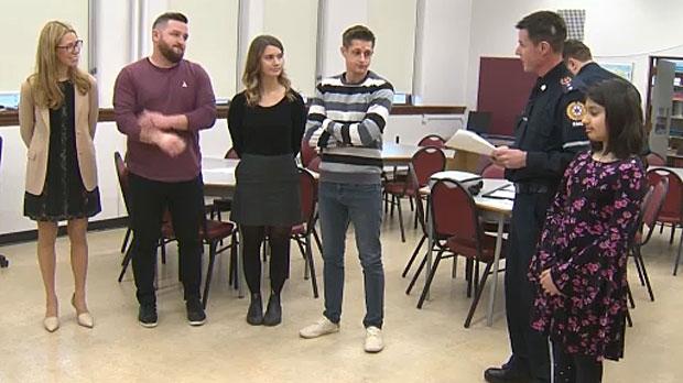Quick thinking staff save student's life