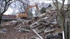 Saint John homes demolished,