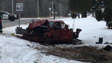 Fatal crash in Elgin County