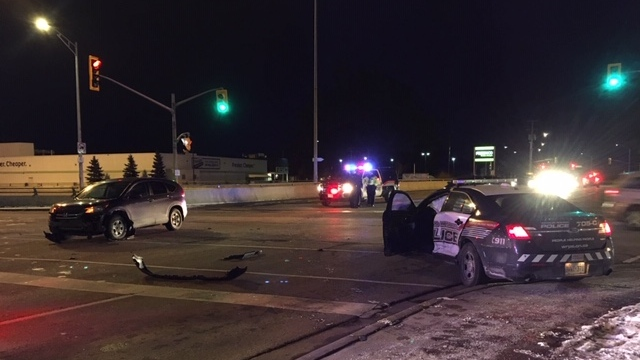 police cruiser crash WRPS waterloo regional police