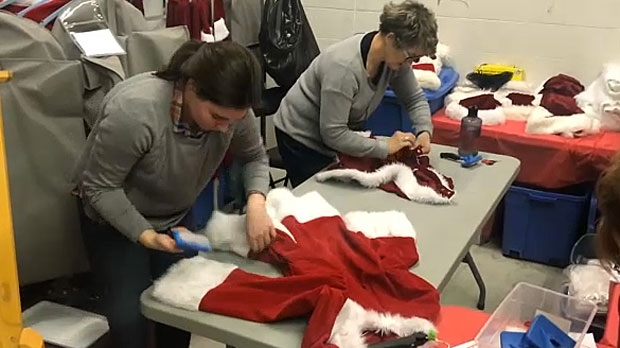 Volunteers prepare for charity