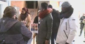 Promise Chukwudum's family held a search rally in Wascana Centre on Dec. 8, 2018. Chukwudum was last seen on Nov. 17.