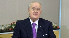 Former prime minister Brian Mulroney on CTV's Question Period on Sunday December 9, 2018. (CTV News)