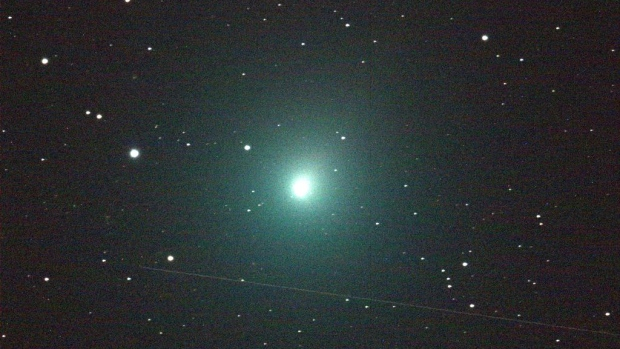 Meteor shower and comet to light up seasonal skies