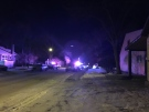 Saskatoon police used a taser on a man who charged at officers during a call on the 300 block of Avenue J North on Dec. 9, 2018.