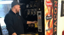 bacon vending machine