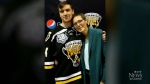 Screaming Eagles captain scores game winning goal