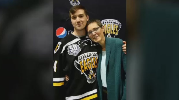 Screaming Eagles captain scores game-winning goal in first game after losing mother to cancer