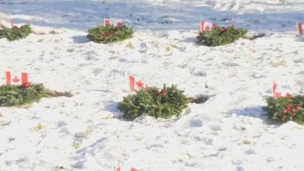 Fallen veterans honoured at Halifax 'Wreaths Across Canada' ceremony