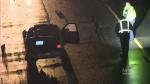 Police cruiser involved in crash