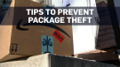 Five ways to prevent package thefts