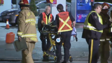 Man trapped inside wreckage after Burnaby crash