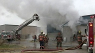 CTV Windsor: Kingsville industrial fire