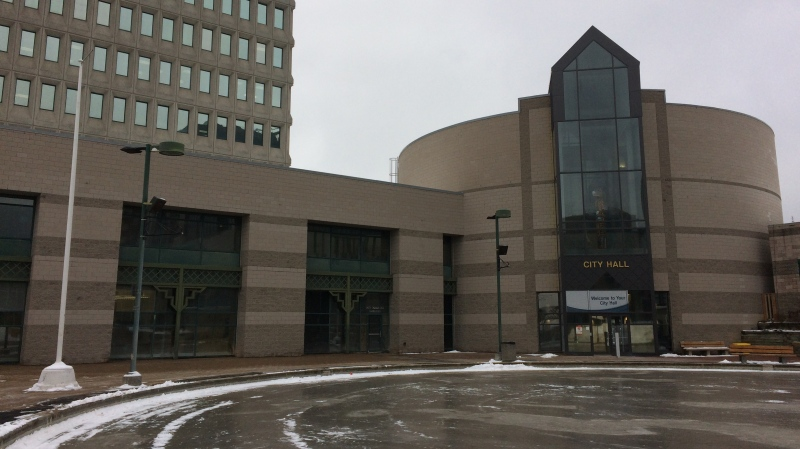 Barrie City Hall on Monday, December 10, 2018 (Aileen Doyle/CTV Barrie)