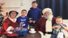 Stuart Carver and his partner Linda Allen dress up as Santa and Mrs. Claus every year to spread Christmas cheer on the south shore of Nova Scotia.