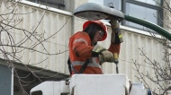 SaskPower changing colour temp of street lights