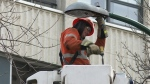 SaskPower changing colour temp of street lights