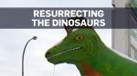 Dinosaurs never died off in Drumheller, Alberta, but something is threatening a second round of extinction.