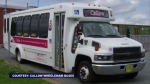 The board of Walter Callow Wheelchair Bus service has decided that as of Dec. 31 of this year it will take their buses out of operation.