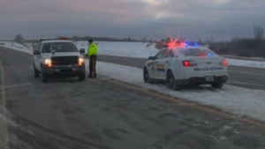 "A section of Highway 101 was closed on Dec. 11, 2018 as the RCMP responded to an ""unfolding situation"" in Nova Scotia's Annapolis Valley."
