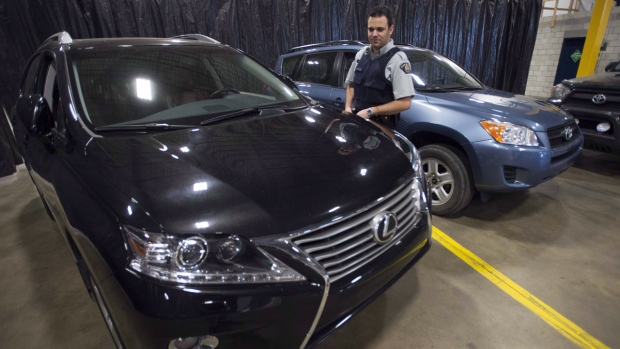 Stolen vehicles recovered in Montreal