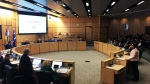 Regina city council hears delegations about the 2019 city budget. (COLE DAVENPORT/CTV REGINA)