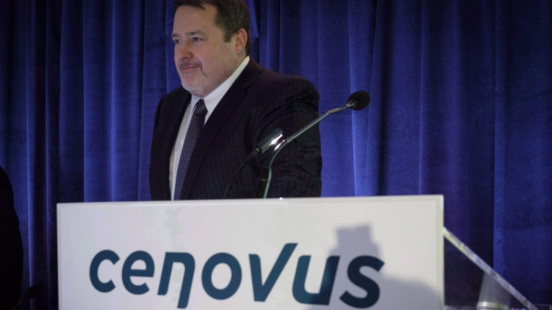 Cenovus Energy has announced a deal to buy Husky Energy, with Cenovus' CEO Alex Pourbaix heading the new company. (File)