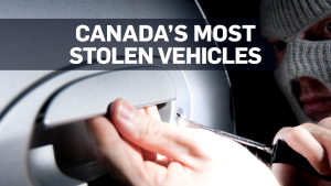 Here are Canada's most stolen vehicles of 2018