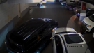 Surveillance video taken in October 2017 allegedly shows a man faking an injury after a minor crash in a parking lot. (ICBC)
