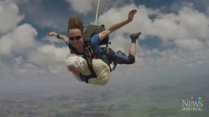 Trending: Never too late to skydive
