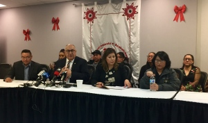Members of the FSIN held a meeting to discuss the inquest into Brydon Whitstone's death. An FSIN vice-chief said the federation will be supporting an independent investigation. (Ashley Field/CTV Saskatoon)