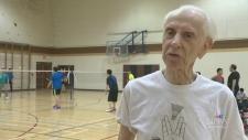 Sport Star: A senior still competing in badminton