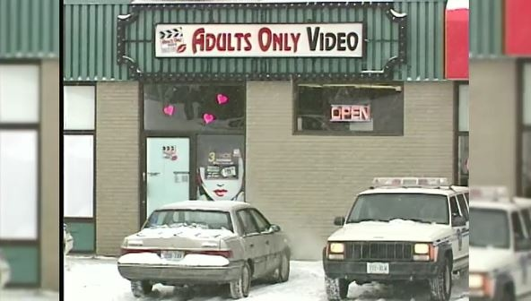 Sweeney murdered while working at a video store