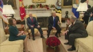 Trump's full exchange with Pelosi and Shumer