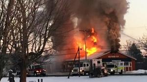 Parrsboro landmark destroyed by fire