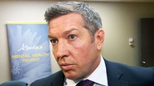 Sheldon Kennedy's name will be removed from the Sheldon Kennedy Child Advocacy Centre in Calgary at his request (file image)