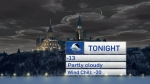 Tuesday 6 p.m. weather update