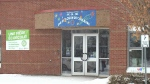 Arc-En-Ciel School on the busy Portobello Boulevard in Orleans, near Ottawa. (CTV)
