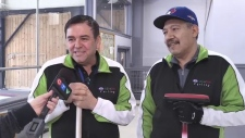 Ernesto Montano and Martin Orozco are from Mexico, a country not known for curling