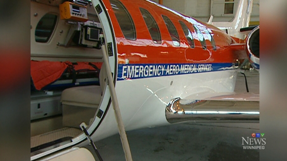 The province plans to privatize two provincially-owned jets. File image.