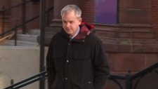 Dennis Oland's brown sports jacket was dry-cleaned the day after the body of his father, Richard Oland, was found in his Saint John office.