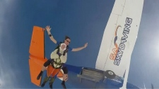102-year-old sets skydiving record