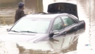 Cars under water, SkyTrain delayed