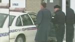 Police on the scene of 1998 Renee Sweeney murder